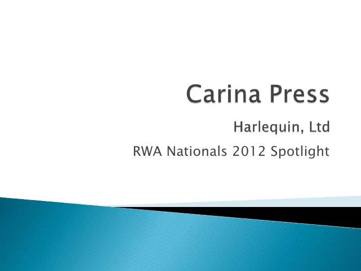 RWA Nationals 2012 Spotlight