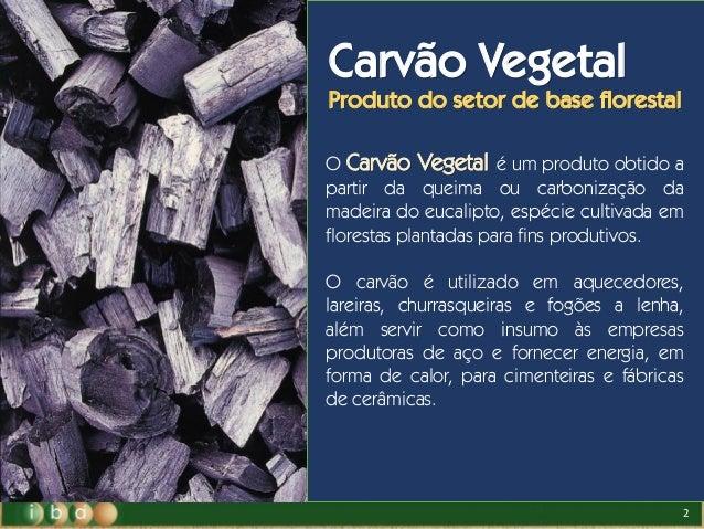 Carvão Vegetal na produção do Aço Verde.  Slide 2