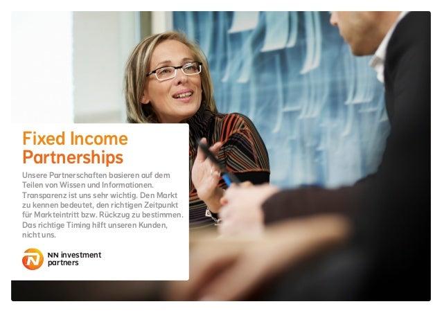 Fixed Income Partnerships Unsere Partnerschaften basieren auf dem Teilen von Wissen und Informationen. Transparenz ist uns...
