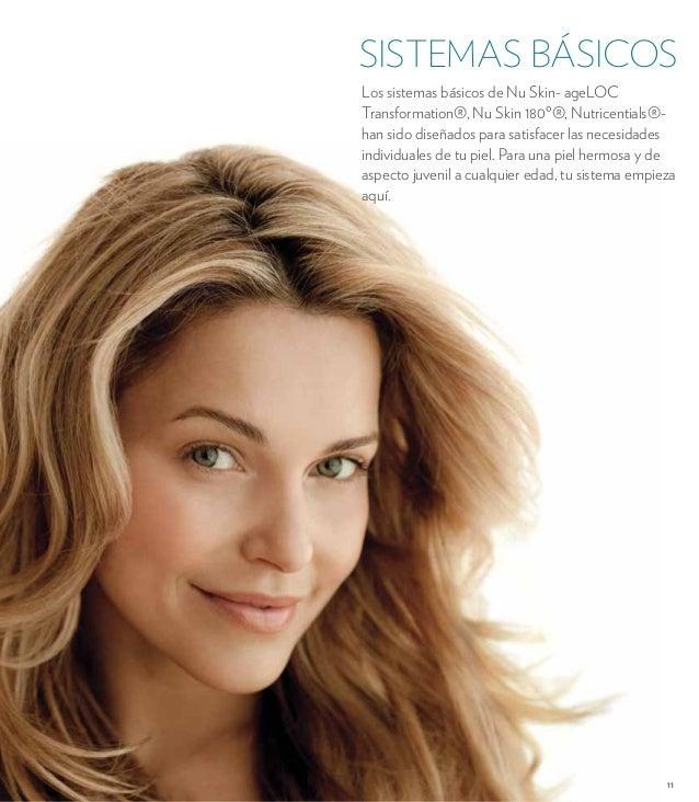 SISTEMAS BÁSICOS  Los sistemas básicos de Nu Skin- ageLOC  Transformation®, Nu Skin 180º®, Nutricentials®-  han sido diseñ...