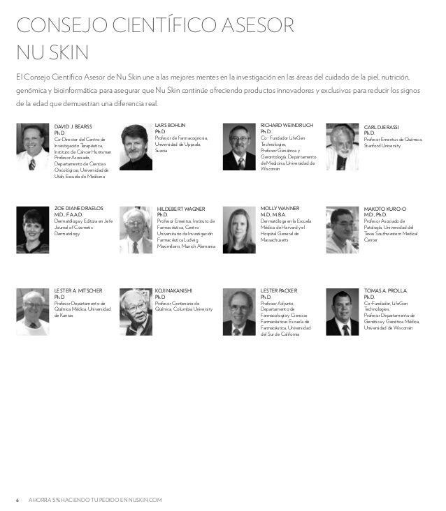 CONSEJO CIENTÍFICO ASESOR  NU SKIN  El Consejo Científico Asesor de Nu Skin une a las mejores mentes en la investigación e...