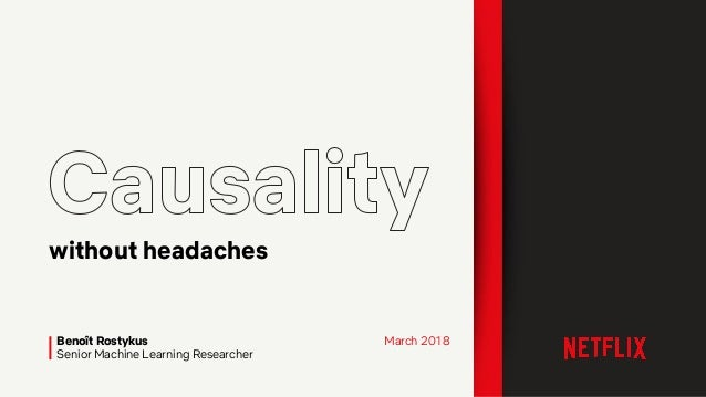 Benoît Rostykus Senior Machine Learning Researcher without headaches March 2018