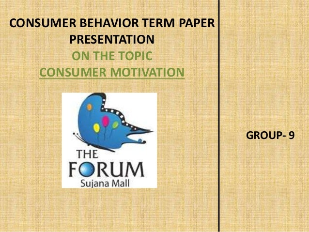 research paper consumer motivation Relevant literatures, online journals, articles, blogs, and other electronic  the  research identified five factors that influence consumers'  also influenced by  internal consumer behavior (perception, altitude, and motivation).