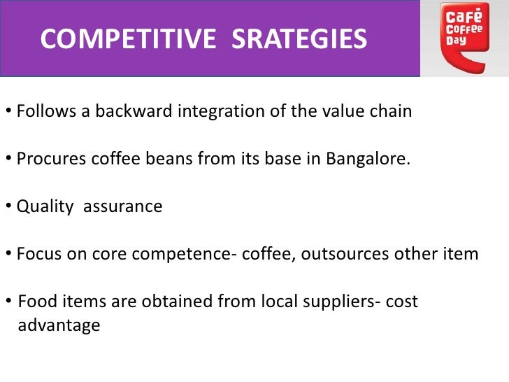 value chain cafe Coffee is one of the main  social boundaries for other supply chain actors.