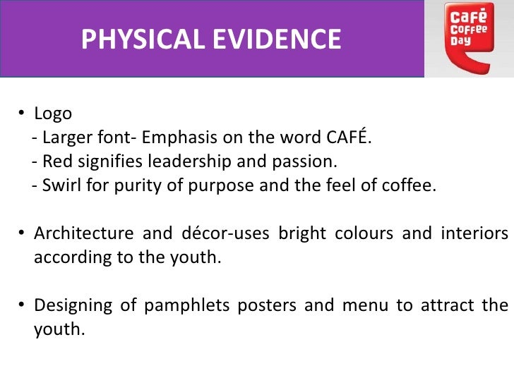 """physical evidence of costa coffee About starbucks a global coffee brand offering the """"starbucks  chosen  instead of robusta beans • sources: sumatra, kenya, ethiopia, costa rica, etc   physical evidence as visual representation • employees including."""
