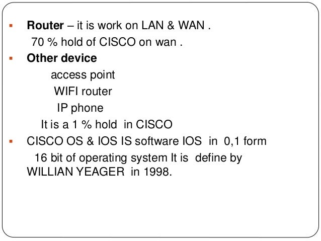 ccna networking ppt