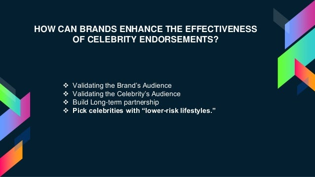 (PDF) Celebrity endorsement strategy - ResearchGate