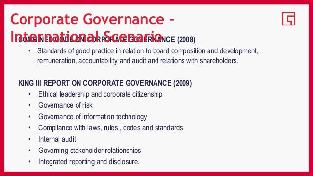 changing scenario of corporate governance Modern american corporate governance  n the current debate over global  climate change,' american gov-  even under such a scenario, the magni.