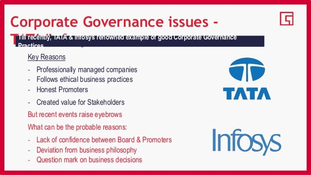 changing scenario of corporate governance The present definition of the independent directors (ids) is aimed at making sure that the independence of the ids is not lost it is with a view to ensure that the corporate governance is maintained and is achieved the whole purpose of introducing the amendments in the companies bill 2009 is that.