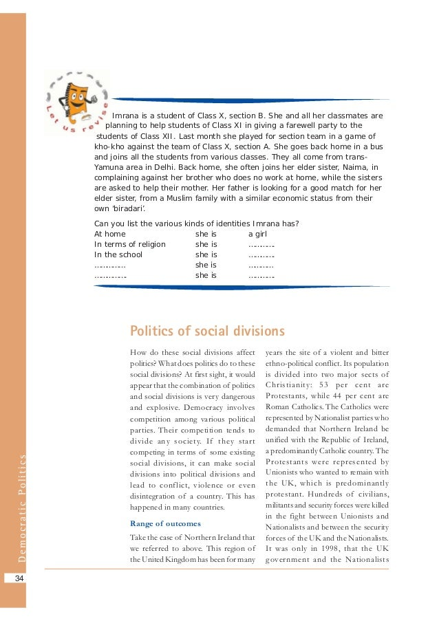 chapter 1 politics you and democracy Welcome to the blog of the senior seminar in comparative politics at st and democracy: preface, chapter 1 social origins of dictatorship and democracy.
