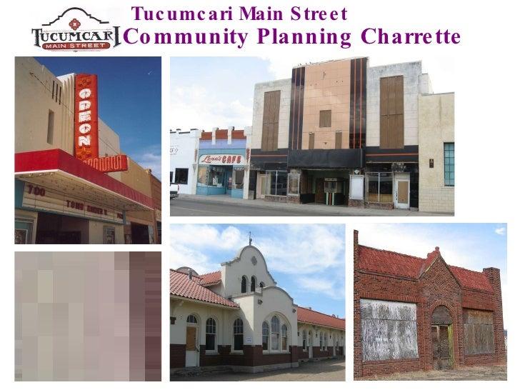 Tucumcari Main Street Community Planning Charrette