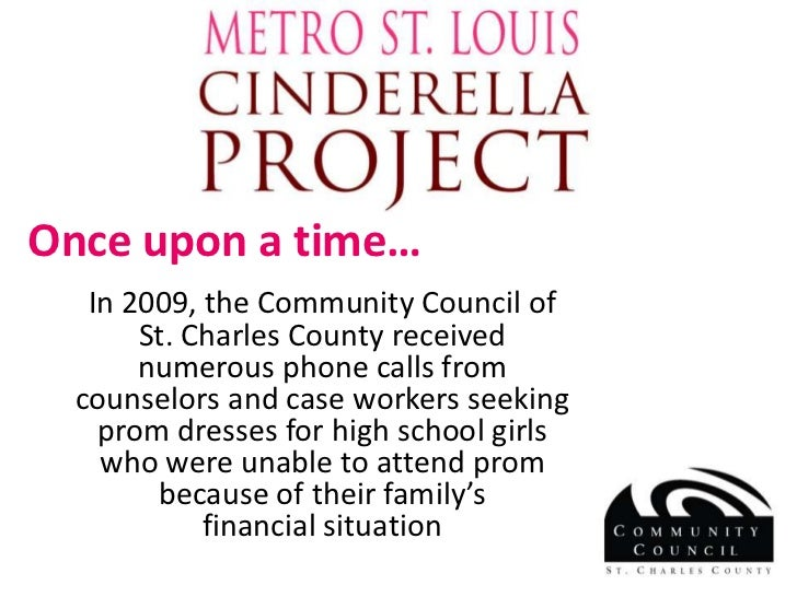 Once upon a time…<br />In 2009, the Community Council of St. Charles County received numerous phone calls from counselors ...