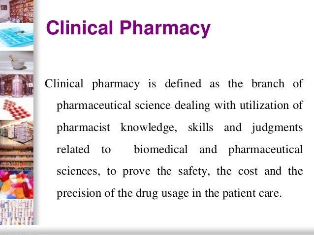 clinical pharmacy Slide 2