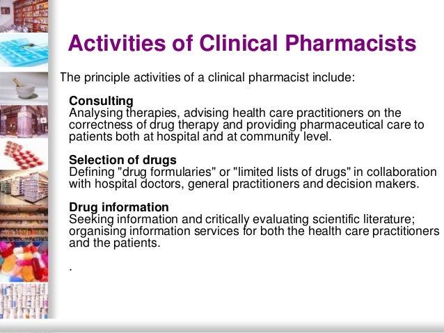 34 - Drug Information Pharmacist