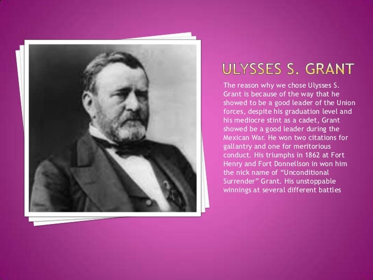 ulysses s grant term paper Here john y simon and a changing team of assistant editors researched and completed thirty-one volumes of the papers of ulysses s grant with generous support from southern illinois university carbondale, the national historical publications and records commission, the national endowment for the humanities,.