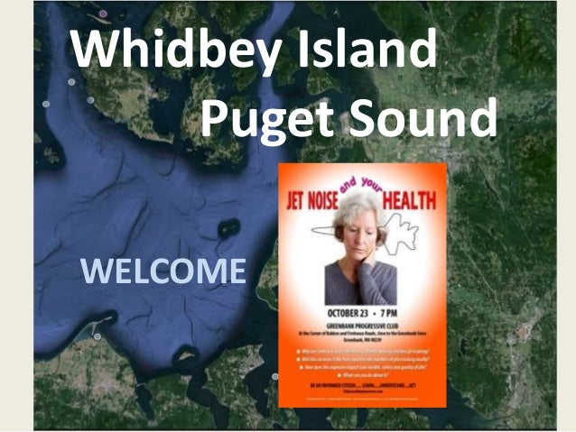 Whidbey Island  Puget Sound  WELCOME