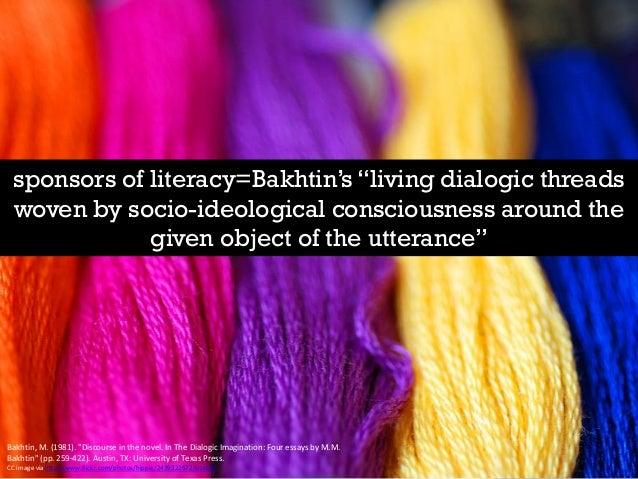 Bakhtin the dialogic imagination four essays