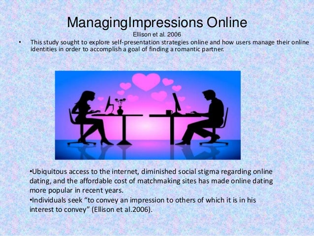 powerpoint presentation on online dating