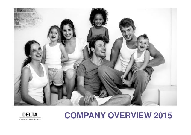 COMPANY OVERVIEW 2015