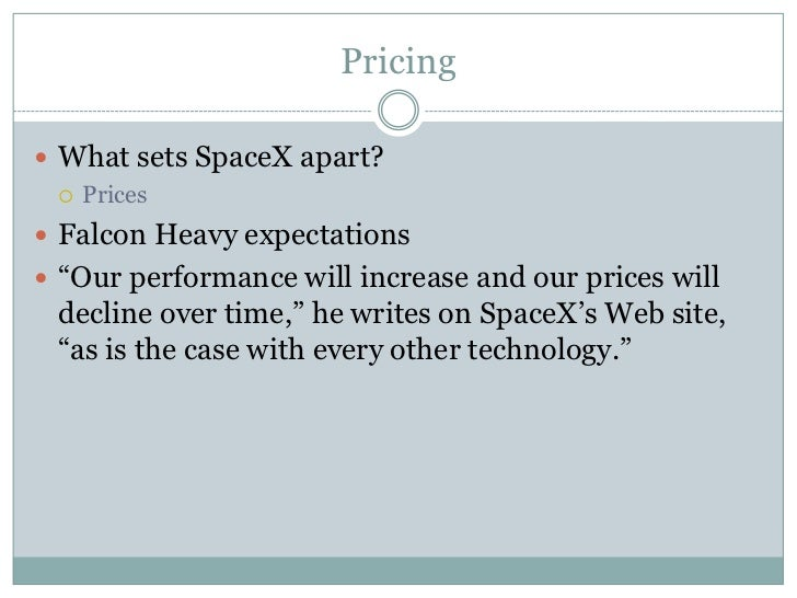 SpaceX Case Study