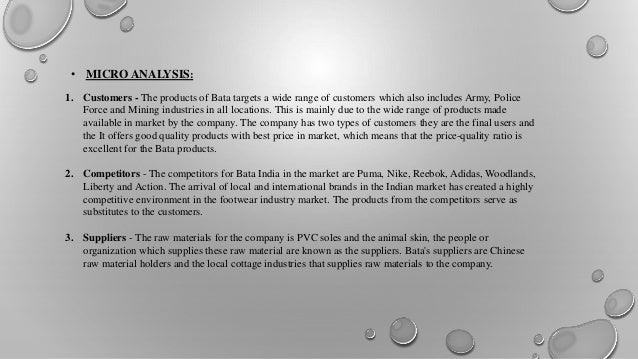 bata industry analysis essay Best buy has already established a good reputation in the global market this is a sample swot analysis essay on best buy from swot analysis paper of ford motor company 2 tips in writing swot analysis papers 3 how to write a swot analysis paper 4 swot analysis essay of walmart.