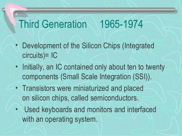 The development of cellular technology over the second and third generation