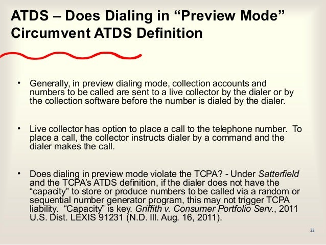 The State Of The Tcpa Consent Dialers The Fcc The
