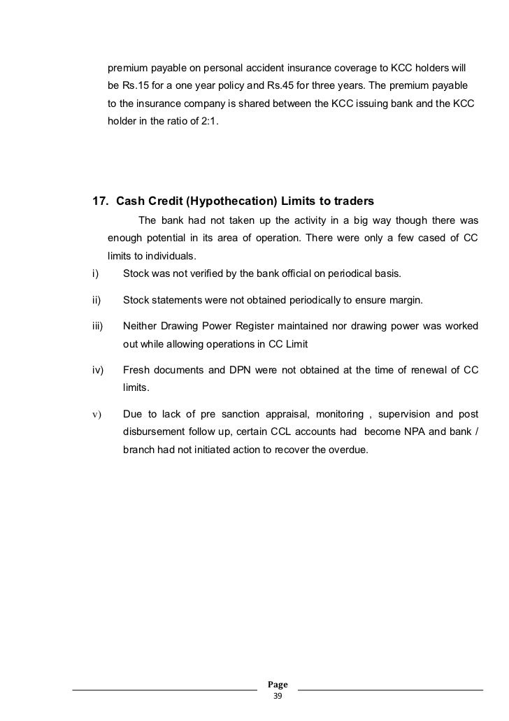 Co oparative bank training project report bharati nama the insurance page 38 39 premium spiritdancerdesigns Gallery