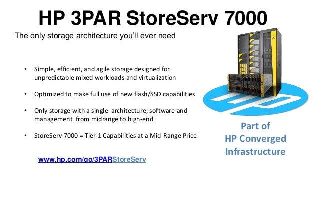 Ocsl Hp 3par Storeserv 7000 Webinar May 2013