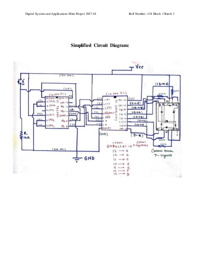 Astonishing Project Report On 0 9 Decade Counter Wiring Cloud Hisonuggs Outletorg
