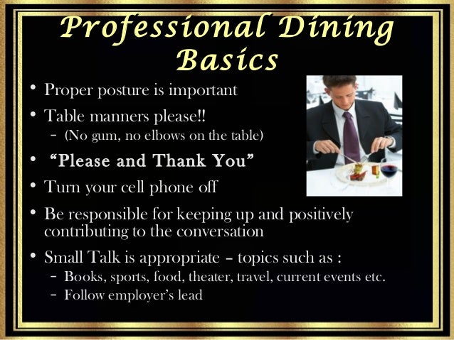 Presentation on Corporate Etiquette : presentation on corporate etiquette 22 638 from www.slideshare.net size 638 x 479 jpeg 101kB