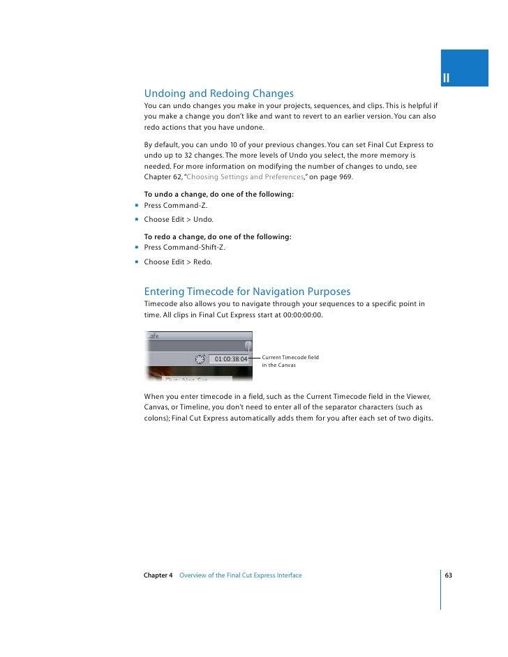 final cut express 4 user manual rh slideshare net final cut express 4 manual pdf Final Cut Express HD
