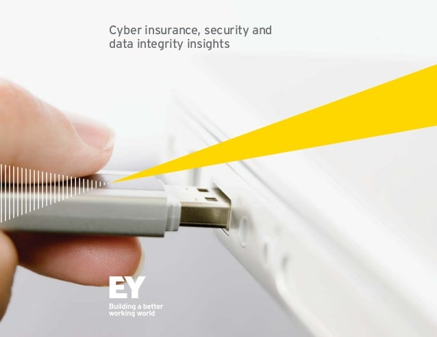1  Cyber insurance, security and  data integrity insights