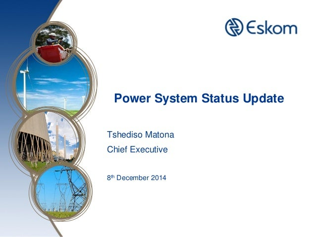 Eskom load shedding update