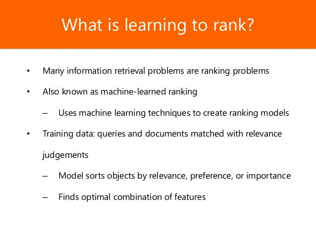 Learning to rank for information retrieval download youtube