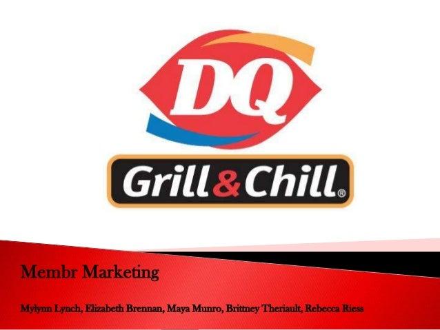 Membr Marketing Mylynn Lynch, Elizabeth Brennan, Maya Munro, Brittney Theriault, Rebecca Riess