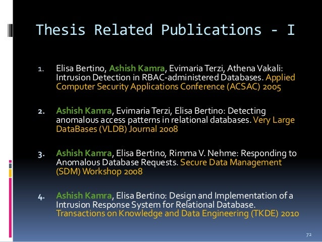 database security thesis Dissertation abstracts diss phd thesis in database security doctoral thesis geology phd thesis english language.