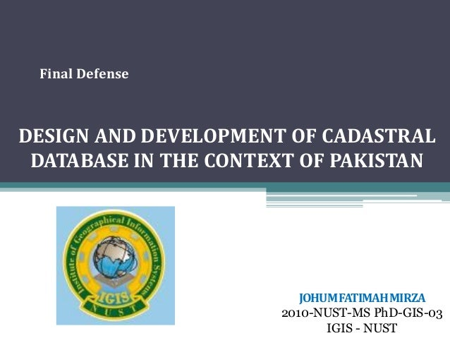 defense graduate thesis