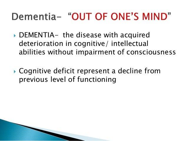 Radiological evaluation of Dementia Slide 2