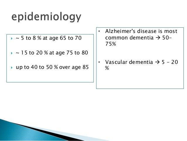 Radiological evaluation of Dementia Slide 3