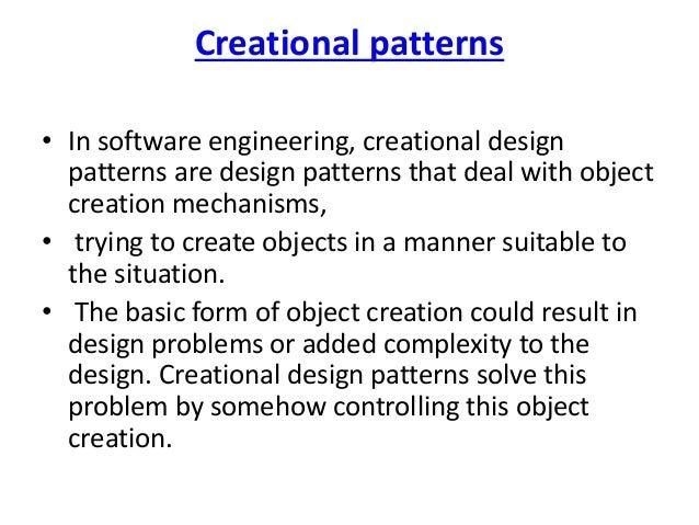 Design Pattern In Software Engineering