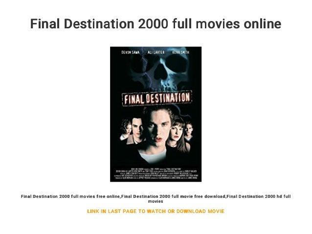 Watch final destination 1 full movie online free