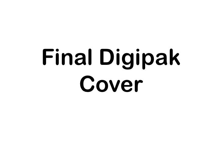 Final Digipak   Cover