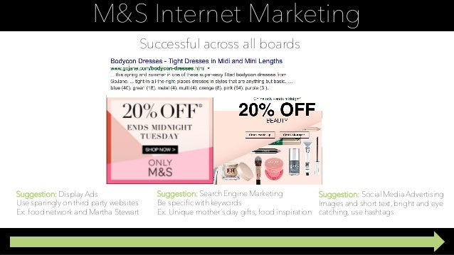 marks spencers marketing strategy All the marketing news, analysis, opinions and ad campaigns from marks & spencer our website uses cookies to improve your user experience if you continue browsing, we assume that you consent to our use of cookies.
