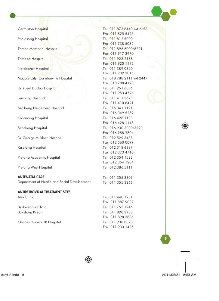 Gauteng Provincial Government Services Directory