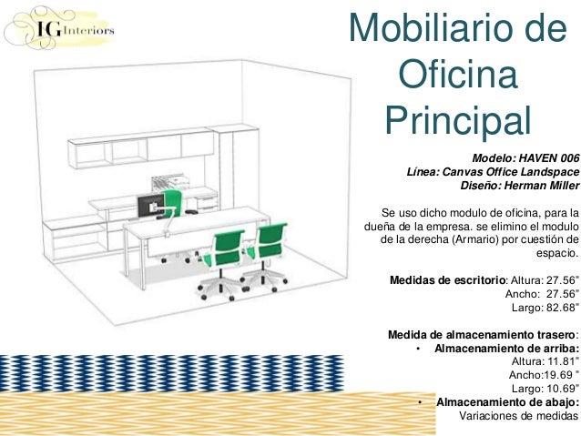 Diseno de oficina modular iris laura guerrero for Mobiliario en una oficina