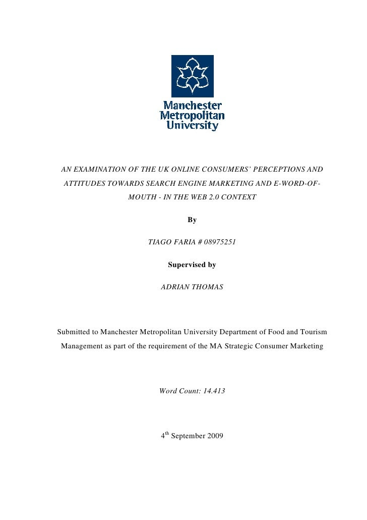 Dissertation for management