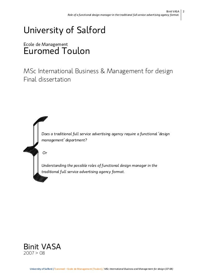 msc phd thesis Henrik hansson 2014 treatment of wastewater generated by wood-based dry  industries: advanced oxidation processes and electrocoagulation phd thesis.