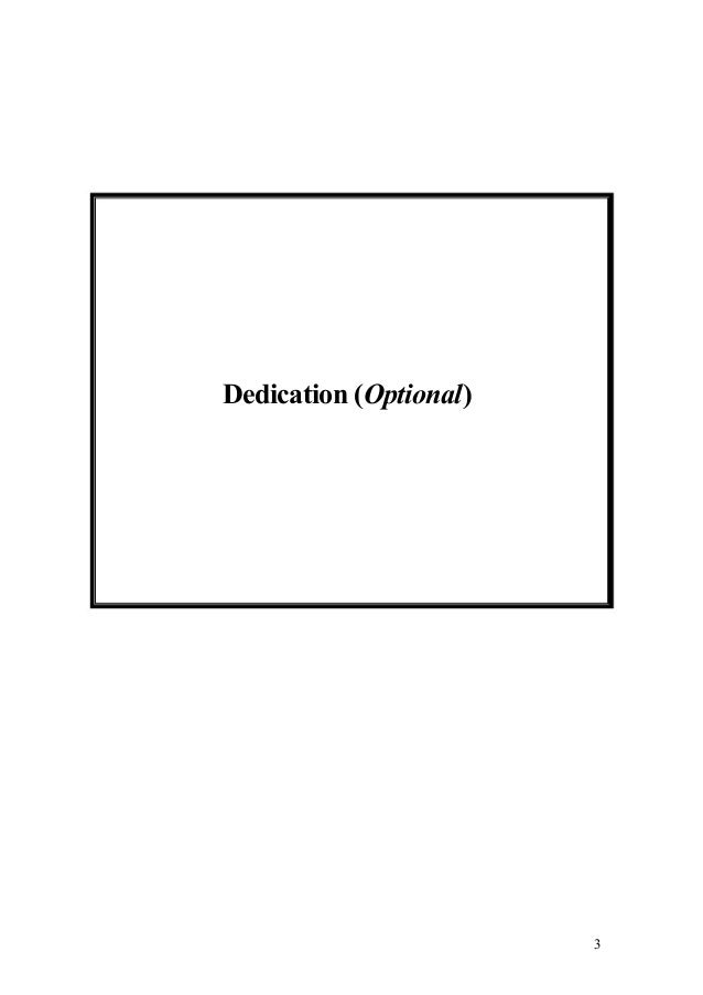 Bold dissertation