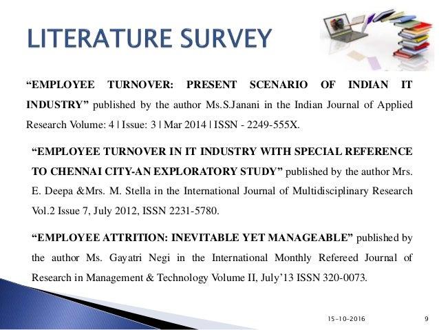 Dissatisfaction dissertation employee turnover